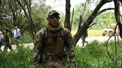 Agentes de la Patrulla Fronteriza de EE.UU. fueron atacados a balazos por cuatro hombres desde el lado mexicano, mientras patrullaban el río Bravo, en las cercanías de El Frontón, Texas