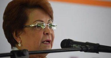 Alejandrina Germán dice es «acto doloroso» reelección de Camacho