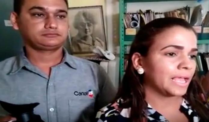 Asaltan periodista y camarógrafo del canal 25 mientras cubrían huelga en Santiago