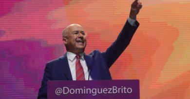 DICE: Domínguez Brito acepta el reto de continuar la obra de Danilo