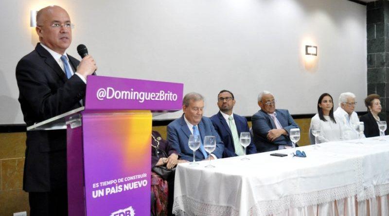 ATENCIÓN: Domínguez Brito recibe apoyo Santiago