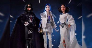 Barbie visita una galaxia muy, muy lejana