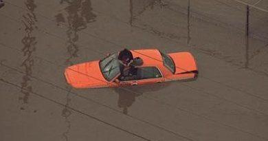 Caminos a través de Granite City impactados por inundaciones repentinas
