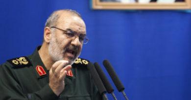 """Comandante de la Guardia Revolucionaria: """"EE.UU. ha acumulado todo su poder en el campo de batalla con Irán"""