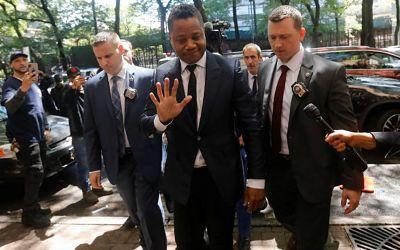 Cuba Gooding Jr irá a juicio por acosar a una mujer en un bar de Nueva York