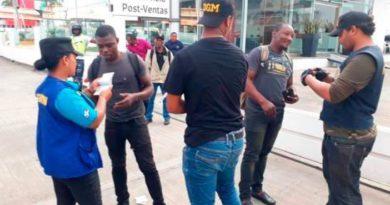 DGM deporta a 743 nacionales haitianos ilegales