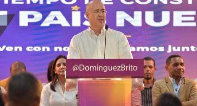 Domínguez Brito asegura que mostrará fuerza en Santiago, DN y GSD