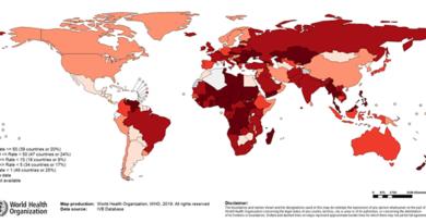 ¡Alerta! Crecen los casos de sarampión en el mundo