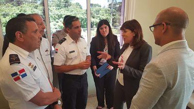 Embajadora de Estados Unidos destaca niveles de seguridad del país tras visita al CESTUR en Bávaro