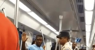Se produce el primer enfrentamiento por predicación en el metro