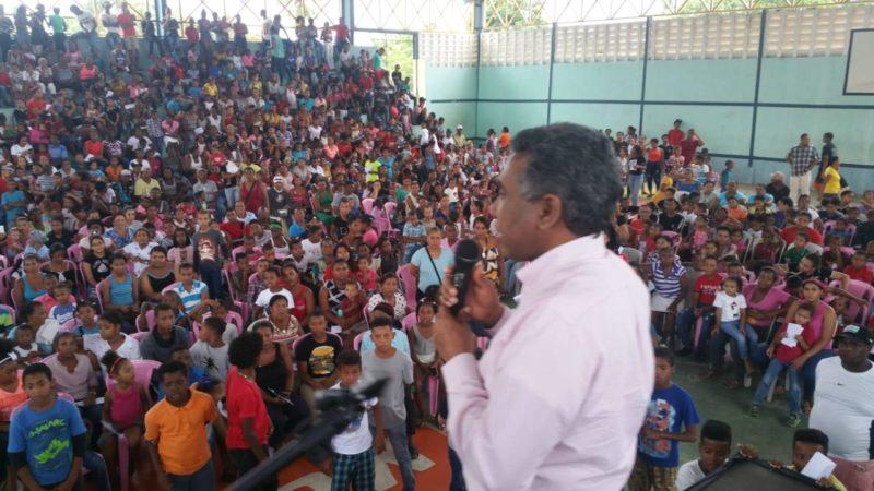 Félix Bautista y Hanoi Sánchez lanzan sus precandidaturas a senador y alcalde por San Juan