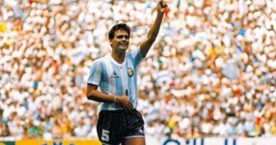 Falleció un campeón del mundo del '86'