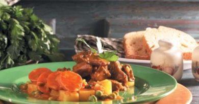 RICOS: Guisito de carne festivo