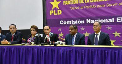 PLD llevará lista de precandidatos a JCE