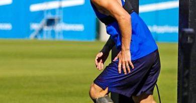 Messi apunta al banco de suplentes