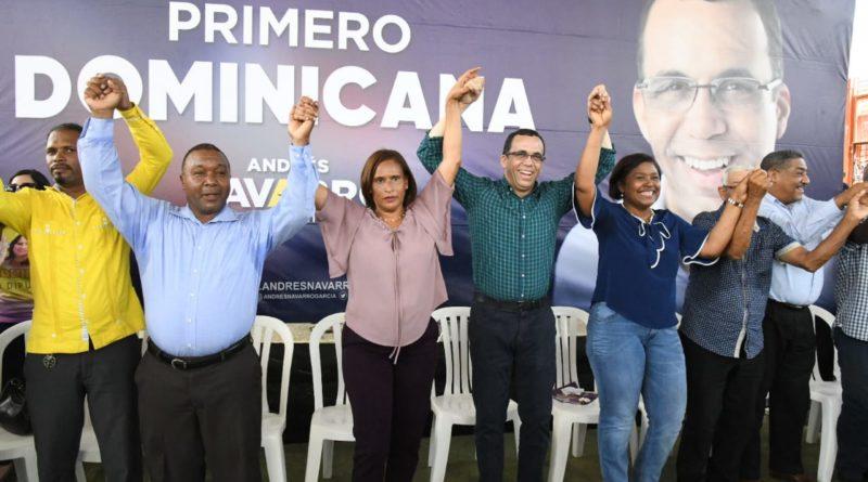 Los Alcarrizos se vuelca en apoyo al proyecto de Andrés Navarro