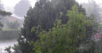 Onamet: Onda tropical provocará aguaceros locales en varias provincias del país