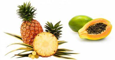 ATENCIÓN: Piña y papaya ¡Y despídete de las digestiones pesadas!