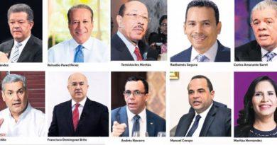 ATENCIÓN: PLD rompe récord de aspirantes a la precandidatura presidencial
