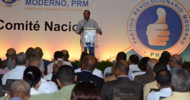 PRM usará primarias y convención para senadurías