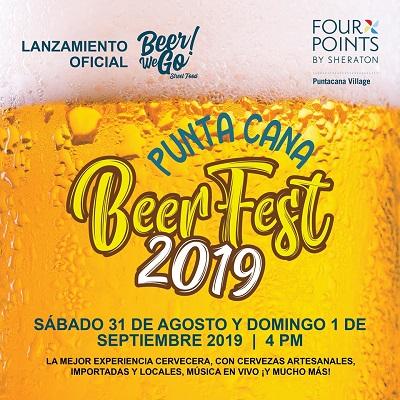"""Celebrarán 2do festival """"Punta Cana Beer Fest 2019"""" en apoyo a la Fundación """"Rescatame"""""""