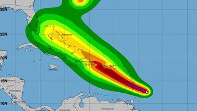 Puerto Rico y las Antillas Menores están amenazadas por la tormenta Dorian