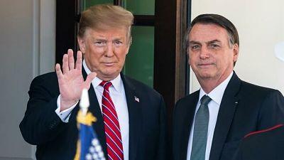 Trump declara a Brasil aliado militar estratégico de EE.UU. fuera de la OTAN