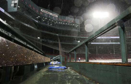 Boston y Reales 4-4 en 10 episodios; popuesto por lluvia