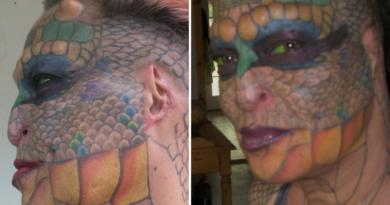 """""""Reina dragón"""": la impactante historia del ex banquero que dejó todo para convertirse en un reptil"""
