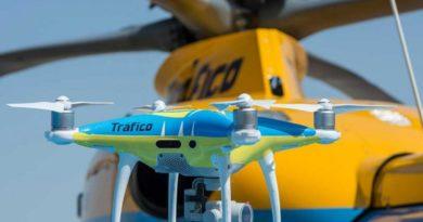 Los drones de la DGT que ponen multas estarán también en la Península
