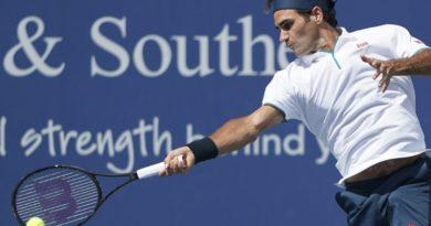 Roger Federer queda fuera de Cincinnati, Barty avanza a cuartos
