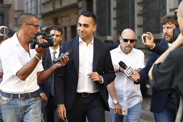 """Di Maio acusa a Salvini de guiarse por las encuestas: """"Intentan justificar una decisión que es puro egoísmo"""""""