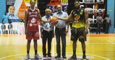 San Sebastián domina final basquet superior de Moca