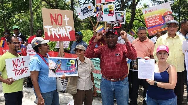 Organizaciones dominicanas rechazan bloqueo de EE.UU. a Venezuela