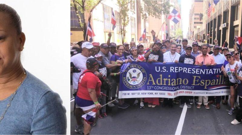 Activistas denuncian fueron desconsiderados por funcionaria del desfile que intentó bloquearles la entrada