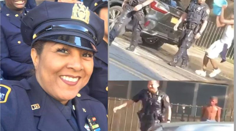 Presidenta de policías dominicanos rechaza ataques con agua a oficiales y pide respeto al uniforme
