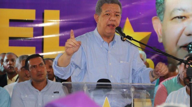 Leonel Fernández advierte cierto liderazgo intenta desviar el curso natural de la historia