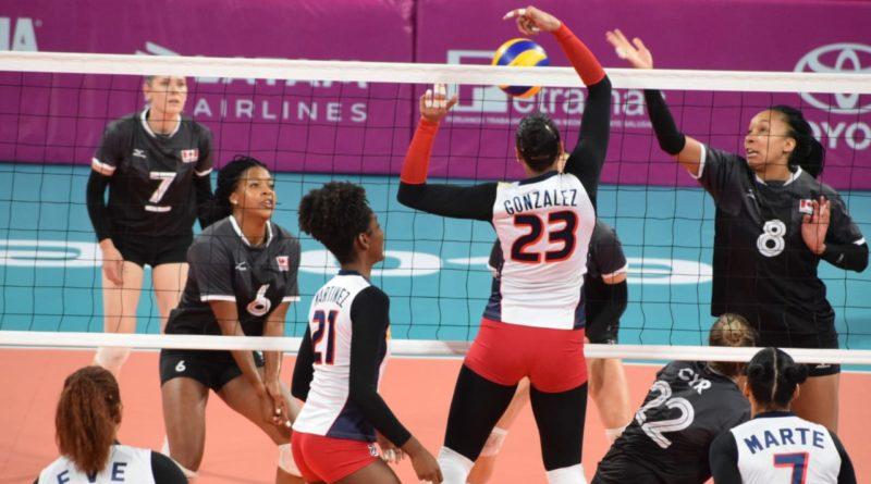 Voleibol de RD vence Canadá y sigue invicto en Panam
