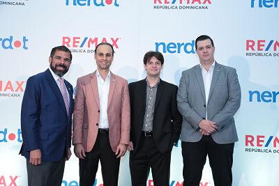 Re/Max RD y Nerdot se alían para revolucionar el mercado inmobiliario.