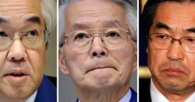 Absuelven a los tres ex ejecutivos de Tepco enjuiciados por el accidente nuclear de Fukushima