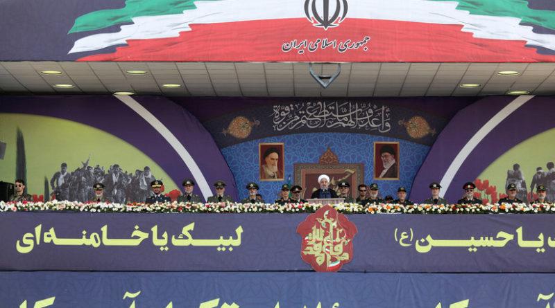 Irán presenta el misil balístico Khorramshahr con una nueva ojiva
