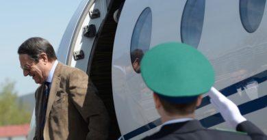 El avión del presidente de Chipre regresa a Nueva York por motivos de segurida
