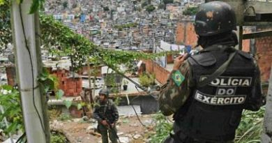 ALERTA : Llueven balas en Río de Janeiro