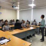 Cadetes policiales amplían sus conocimientos en el tema de Derechos Humanos