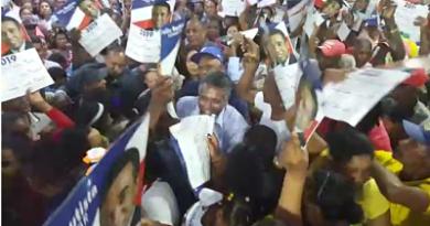 Destacan apoyo masivo recibe senador Félix Bautista en San Juan