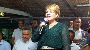 Diputada y aspirante a senadora Lucía Medina (Yomaira) convoca a rueda de prensa para este martes