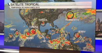 La formación de seis tormentas tropicales simultáneas en el Atlántico y el Pacífico marca un nuevo récord