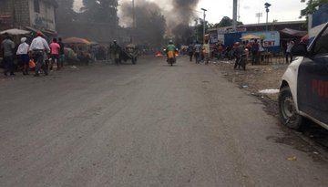 La policía reprime con violencia una nueva protesta en Haití