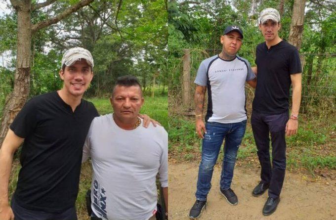 ATENCIÓN : Filtran fotos de Juan Guaidó posando con narcoparamilitares en la frontera colombo-venezolana