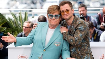 Elton John y Taron Egerton actuarán juntos